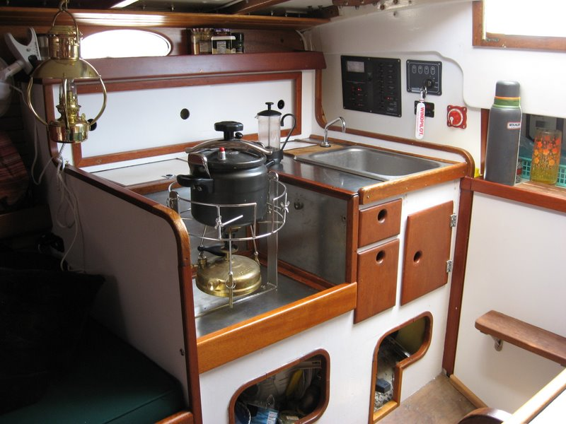 Small sailboat galley images reverse search Ship galley kitchen design